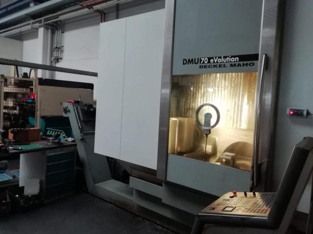 DMG DMU70 evolution Occas
